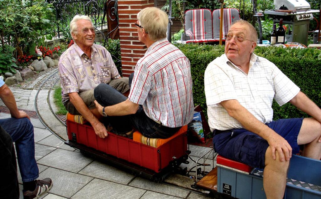 06 Die Fahrt geht weiter mit Eugen und Werner