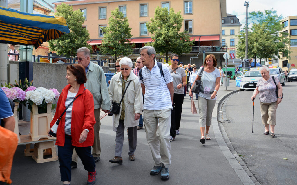 14 Spaziergang durch Basel