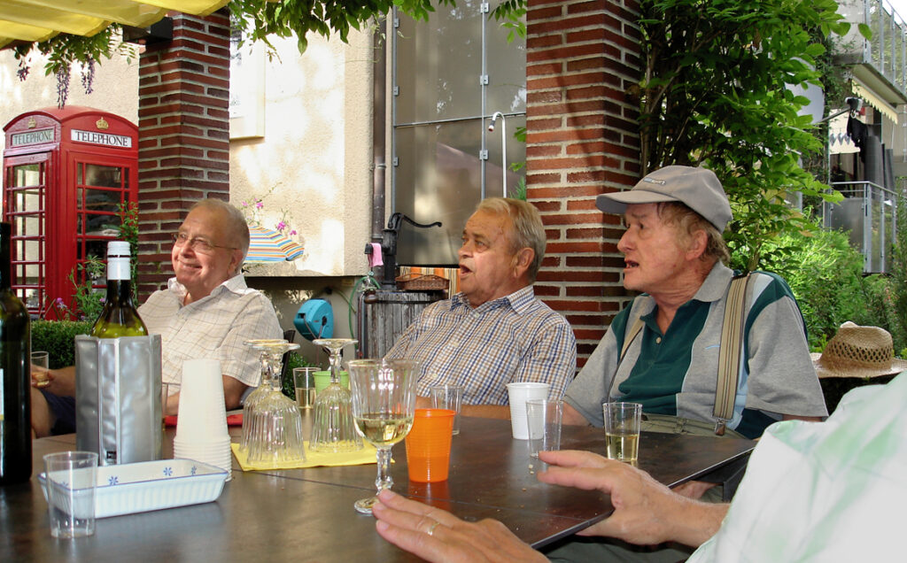 21 Robert, Rolf und Ruedi