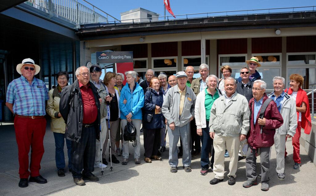 44 Gruppenfoto auf dem Stanserhorn