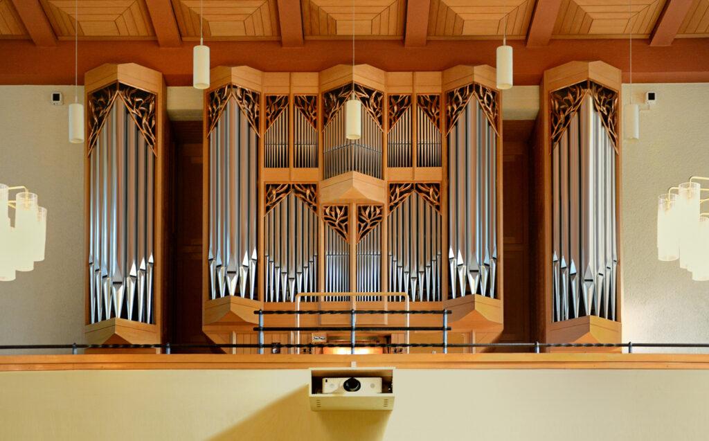 Die Orgel der Erlöserkirche